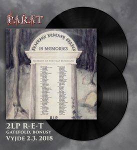 PAŘÁT VYDÁ NA DOUBLE LP NEJLEPŚÍ ALBUM ČESKÉ DOOMMETALOVÉ HISTORIE