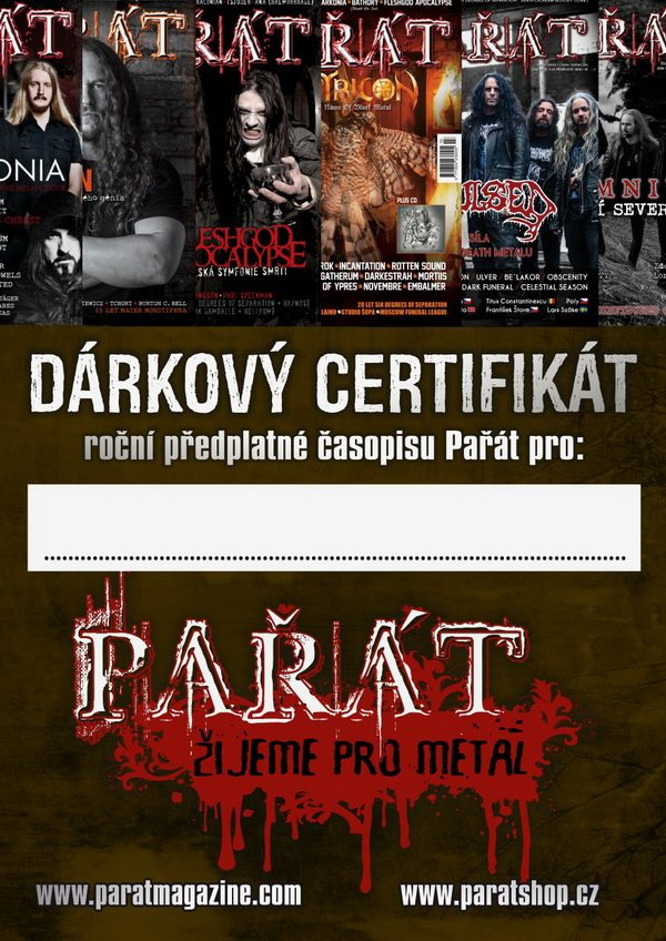 Dárkový certifikát