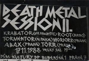 DEATH METAL SESSION - Vzpomínání po 30 letech