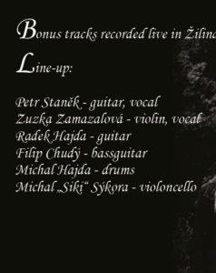 NA CD REEDICI PRVNÍHO ALBA SILENT STREAM OF GODLESS ELEGY JE JAKO BONUS ČÁST KONCERTU Z ROKU 1997